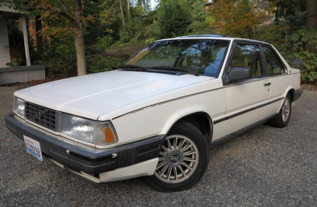 1987 volvo 780 bertone coupe rare low mileage vintage driver fun original for sale. Black Bedroom Furniture Sets. Home Design Ideas