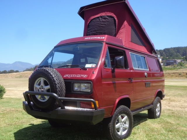 1987 vw factory syncro westfalia completely rebuilt for. Black Bedroom Furniture Sets. Home Design Ideas