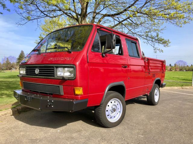 1987 VW Transporter Double cab (DoKa) Syncro for sale