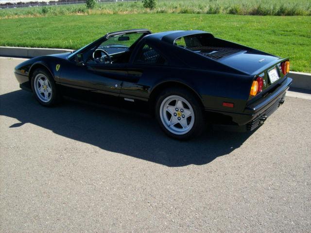 1988 328 Gts Ferrari Belt Service At 48k Miles Nero