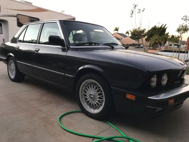 1988 bmw 535is clear ca title in hand smogged great runner for sale bmw 5 series 535is 1988. Black Bedroom Furniture Sets. Home Design Ideas