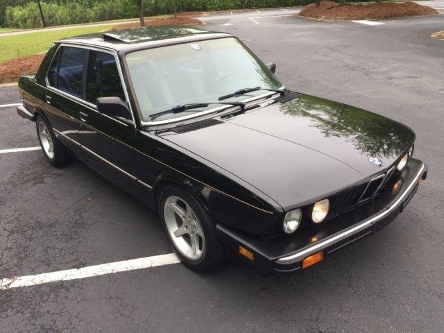 1988 Bmw E28 535i Rust Free 5 Speed Sorted Original Panels