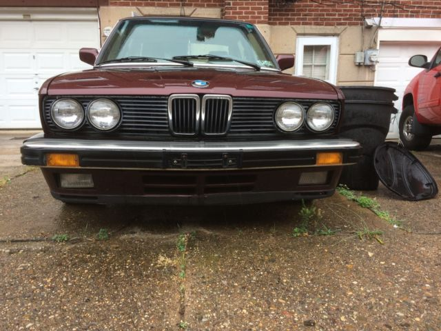 1988 bmw e28 535is for sale bmw 5 series 1988 for sale in philadelphia pennsylvania united. Black Bedroom Furniture Sets. Home Design Ideas
