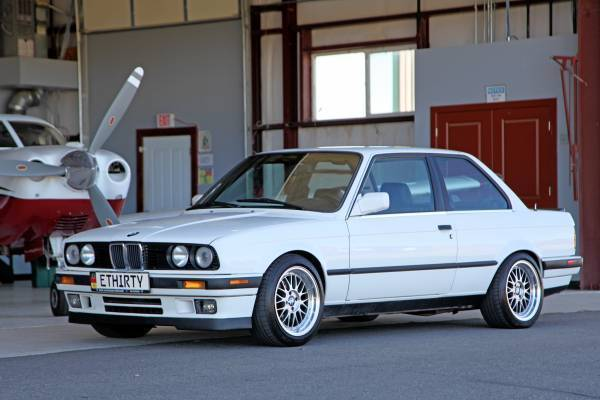 1988 Bmw E30 325is Alpine White Black Leather Plastic Bumpers Crack Free Dash For Sale Bmw 3 Series Is 1988 For Sale In Denver Colorado United States