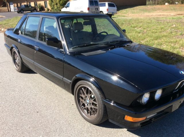1988 bmw m5 euro for sale bmw m5 m5 euro 1988 for sale in conyers. Black Bedroom Furniture Sets. Home Design Ideas