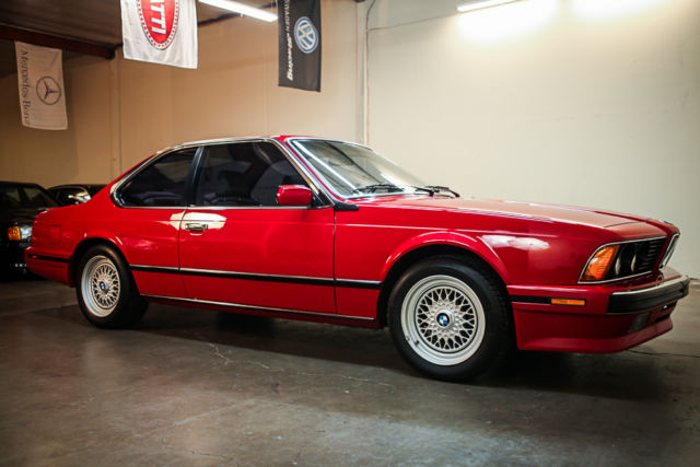 1988 Bmw M6 Immaculate Condition One Owner E24 E28 M3 M5