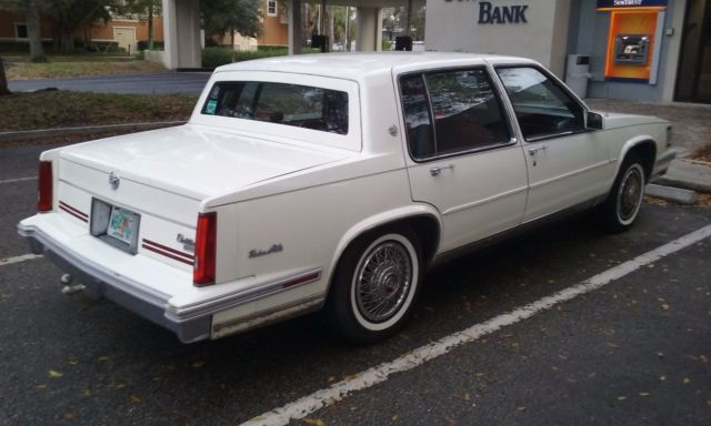 1988 cadillac deville sedan for sale cadillac deville. Cars Review. Best American Auto & Cars Review