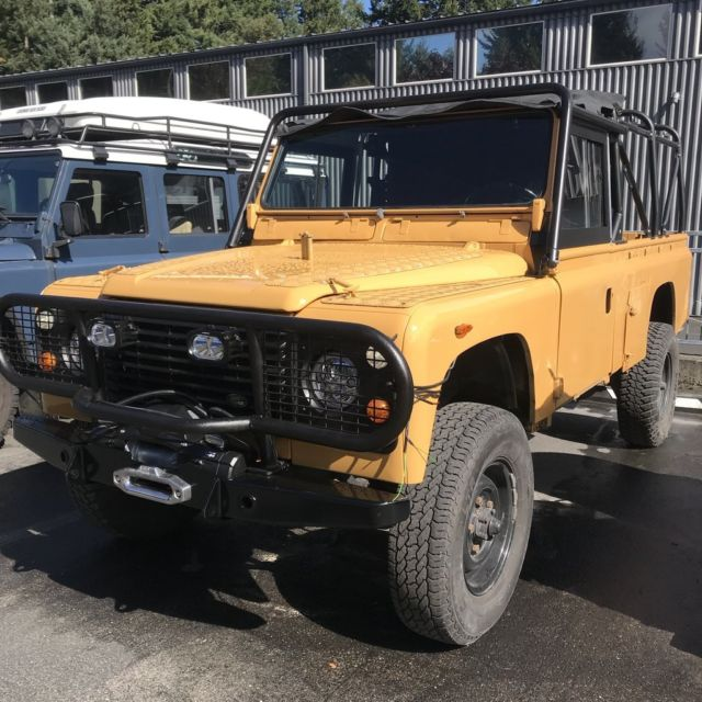 Land Rover Defender 110 For Sale: 1988 Camel Trophy Tribute Land Rover Defender 110