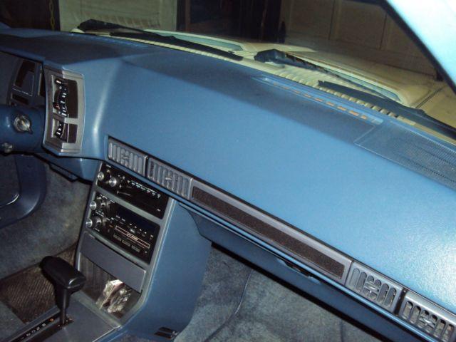 1988 CHEVROLET CAVALIER Z24 CONVERTIBLE 41,814 ORIG  MILES