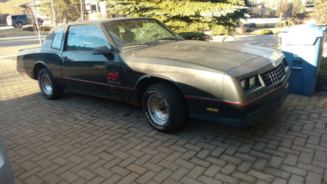 1988 Chevy Monte Carlo Ss All Original With Only 32k For
