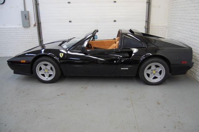 1988 Ferrari 308 Gts Black With Tan Interior 39k Miles