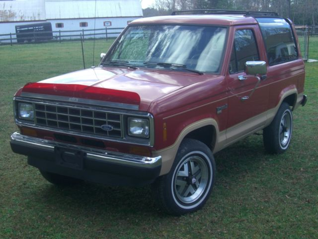 1988 ford bronco ii this is a super clean nice 4x4 good fuel mileage driver for sale ford. Black Bedroom Furniture Sets. Home Design Ideas