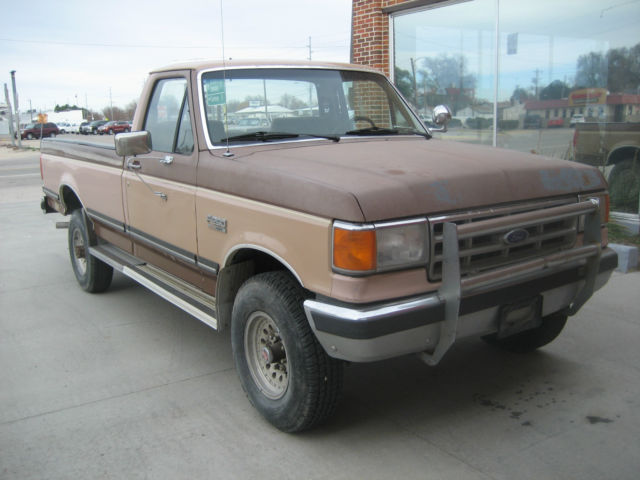 1988 Ford F250 >> 1988 FORD F250 4X4 REGULAR CAB PICKUP LOW MILES for sale