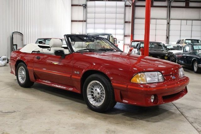 1988 ford mustang gt 40861 miles red coupe 5 0 v8 manual for sale ford mustang gt 1988 for. Black Bedroom Furniture Sets. Home Design Ideas