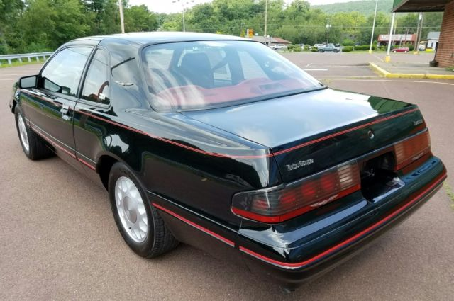1988 ford thunderbird turbo coupe all original with only 449 documented miles for sale ford. Black Bedroom Furniture Sets. Home Design Ideas