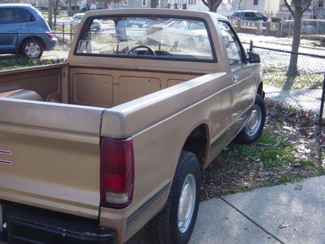 1988 GMC S15 Sierra pickup for sale - GMC Sonoma S15 Sierra