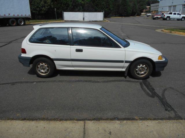 1988 honda civic dx 2 door hatchback 1 5l l4 sohc automatic only 85 762 miles for sale honda. Black Bedroom Furniture Sets. Home Design Ideas