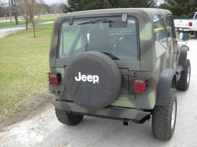 1988 jeep wrangler camo for sale jeep wrangler 1988 for sale in demotte indiana united states. Black Bedroom Furniture Sets. Home Design Ideas