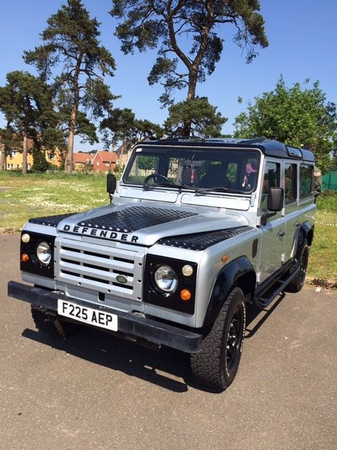 1988 land rover defender 110 county station wagon for sale. Black Bedroom Furniture Sets. Home Design Ideas