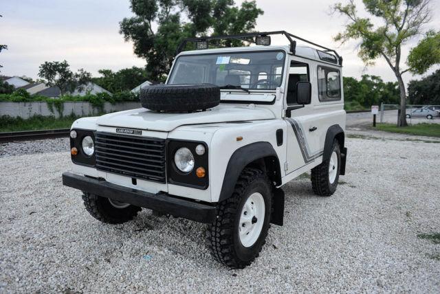 1988 land rover defender 90 similar to 110 discovery jeep wrangler range g wagon for sale land. Black Bedroom Furniture Sets. Home Design Ideas