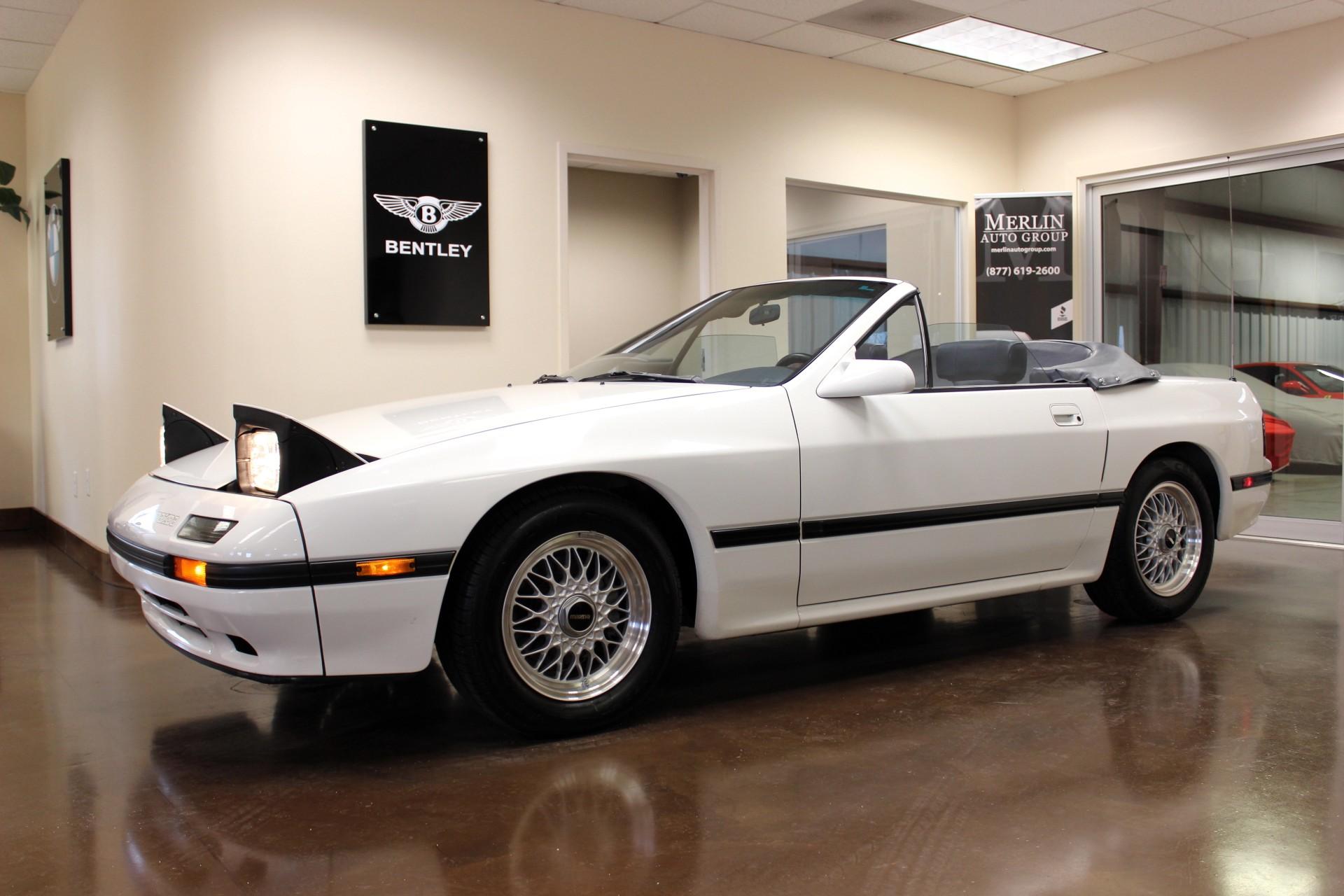 1988 Mazda RX 7 25227 Miles White Convertible R2 1.3L M
