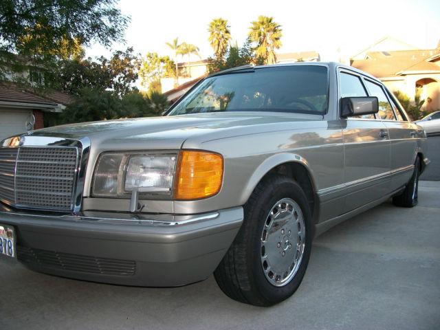 1988 mercedes benz 420 sel 560 380 for sale mercedes for Mercedes benz 420