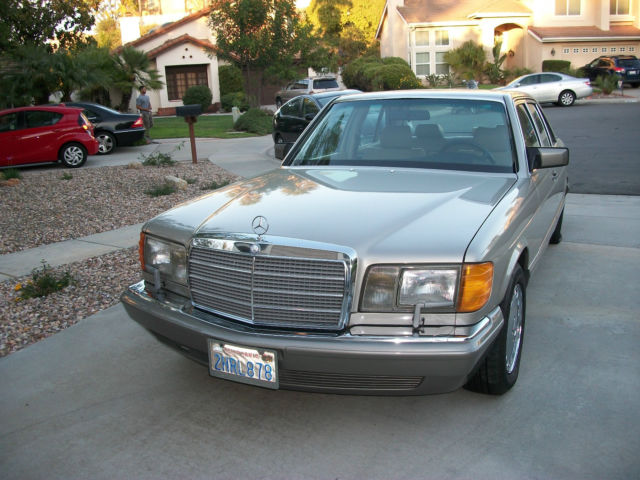 1988 mercedes benz 420 sel 560 380 for sale mercedes for Mercedes benz s550 oil change