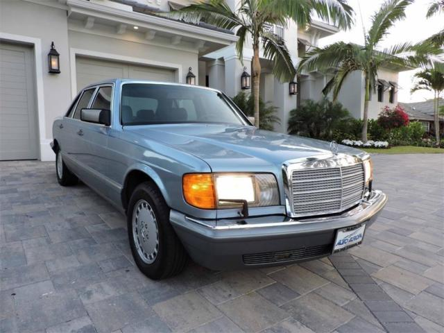 1988 mercedes benz 420 sel sedan low miles garage kept for 1988 mercedes benz 420sel for sale