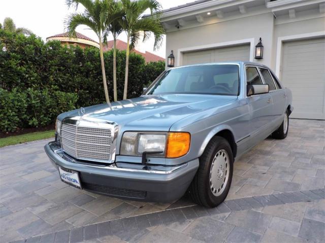 1988 mercedes benz 420 sel sedan low miles garage kept for 1988 mercedes benz 420sel