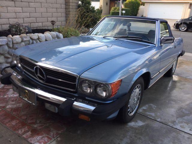 1988 mercedes benz 560 class 560 sl 113 360 miles rare for Mercedes benz mission viejo