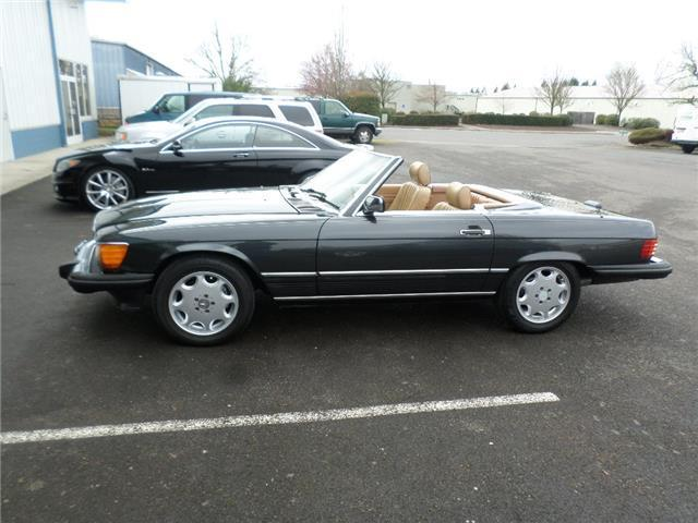 1988 mercedes benz 560 series 560sl 152 000 miles dark for 1988 mercedes benz 560sl for sale