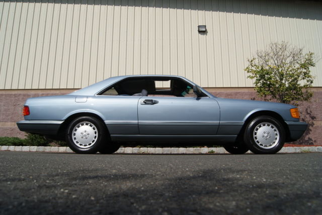 1988 mercedes benz 560sec base coupe 2 door 5 6l rare for Mercedes benz 2 door coupe for sale