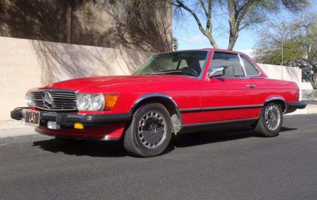 1988 mercedes benz 560sl 65k miles one owner blue chip for Mercedes benz performance chips