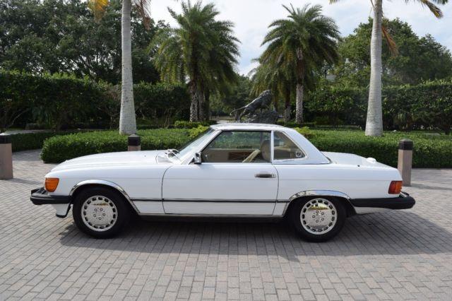 1988 mercedes benz 560sl coupe roadster less than 20 000 for Long beach mercedes benz dealer