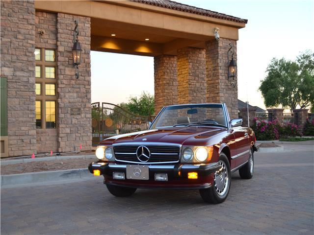 1988 mercedes benz 560sl fully documented original az car for Mercedes benz of chandler arizona