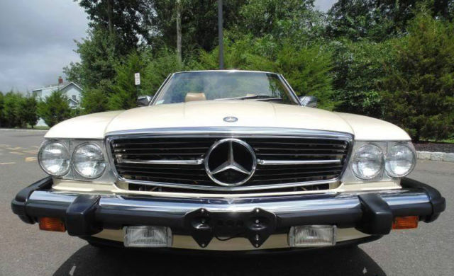 1988 mercedes benz 560sl light ivory palomino 74k miles for 1988 mercedes benz 560sl for sale