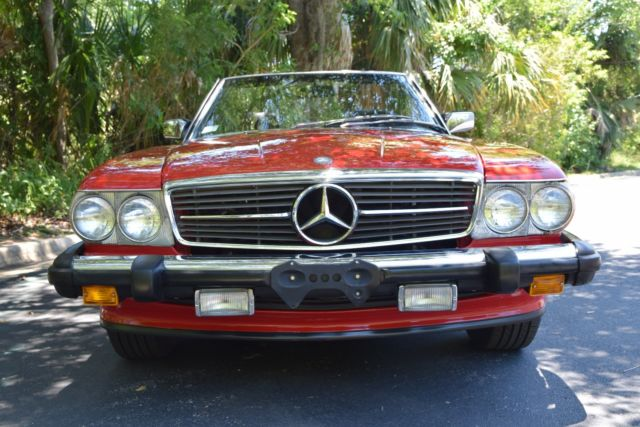 1988 mercedes benz 560sl only 47k miles fully serviced for 1988 mercedes benz 560sl for sale
