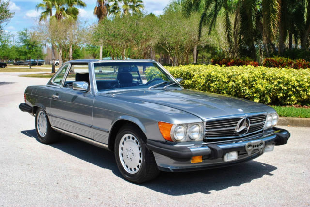 1988 mercedes benz 560sl roadster absolutely immaculate for Mercedes benz for sale by owner in florida