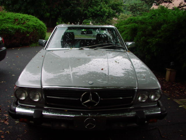 1988 mercedes benz sl class convertible 2 door w hardtop for Mercedes benz sl convertible for sale