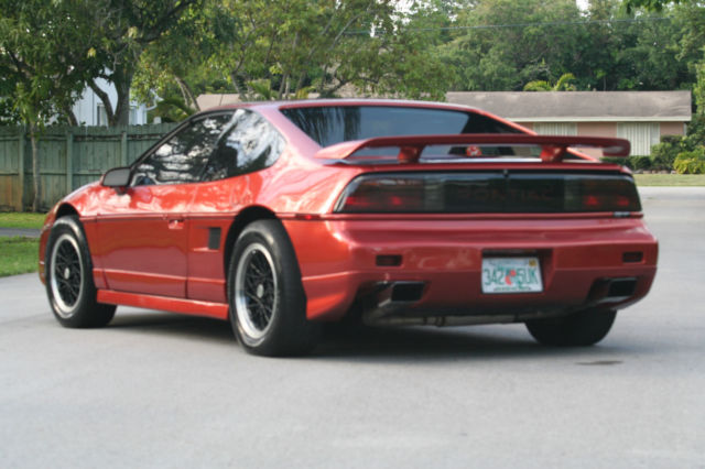 Pontiac Fiero Gt Coupe Door L Series Iii Supercharged