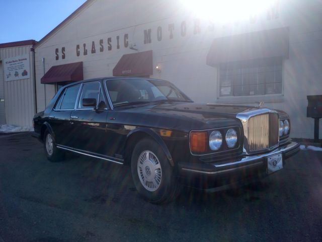 1988 Rolls Royce Bentley Mulsane S Low Start Price