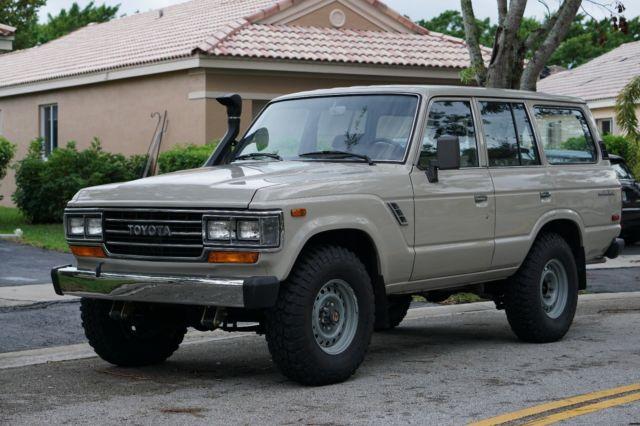 1988 Toyota Land Cruiser 60 series FJ 62 for sale - Toyota