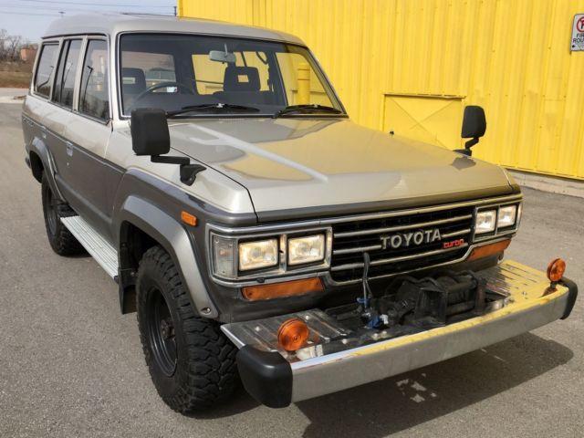 1988 Toyota Land Cruiser Hj61 Turbo Diesel High Roof Pto