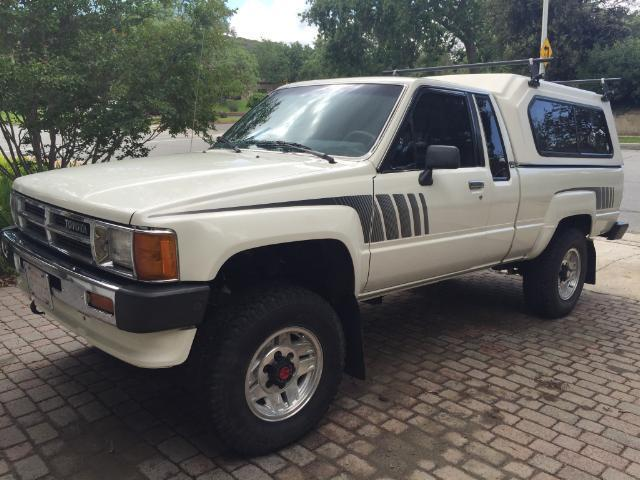 1988 Toyota Pickup SR5 Extended Cab Pickup 2-Door 2.4L for ...