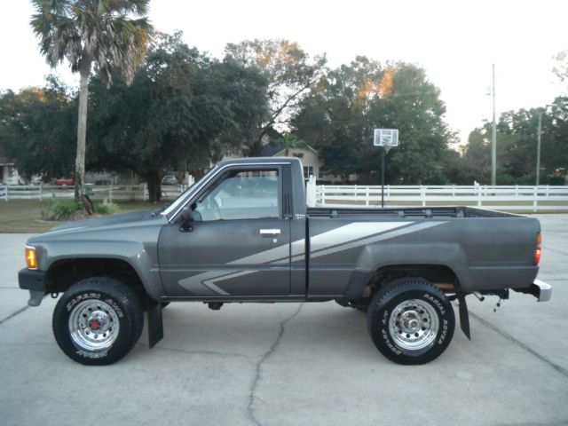 1988 toyota pickup truck 4x4 clean no rust fuel. Black Bedroom Furniture Sets. Home Design Ideas