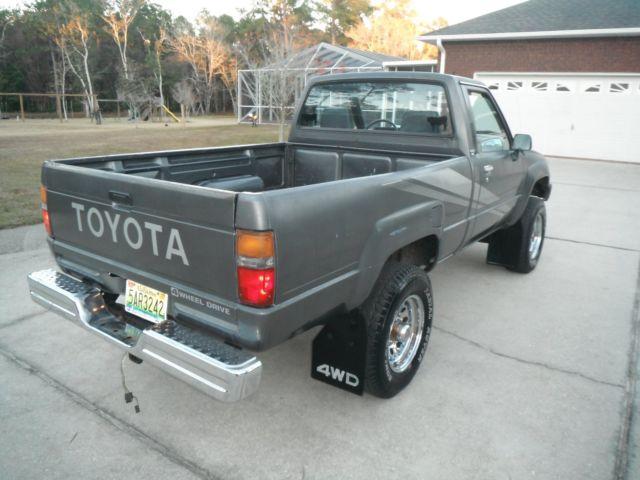 1988 Toyota Pickup Truck 4x4 Clean No Rust Fuel
