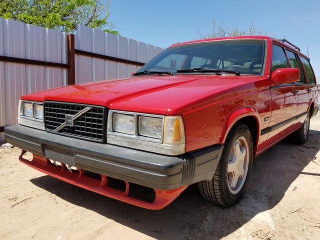 1988 Volvo 740 Wagon Chevy V8 Lt1 Conversion Camaro Z28