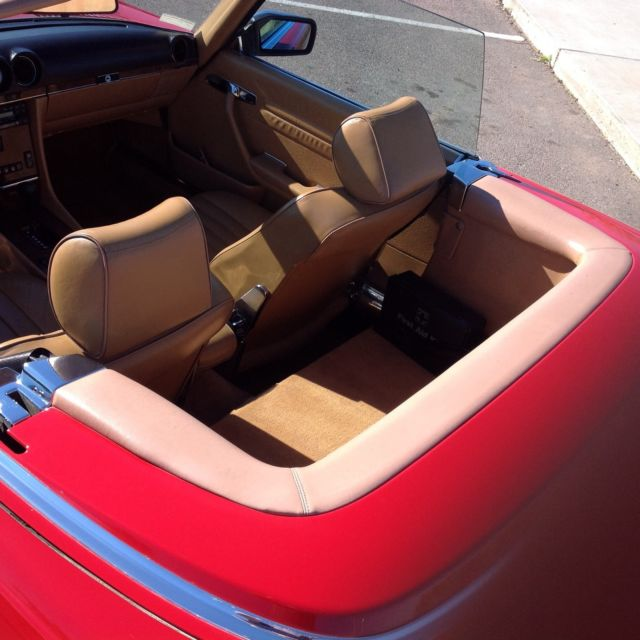 1989 560 sl 2nd owner for sale mercedes benz sl class 1989 for sale in tempe arizona united. Black Bedroom Furniture Sets. Home Design Ideas