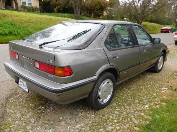 1989 acura integra low miles 49k for sale acura. Black Bedroom Furniture Sets. Home Design Ideas