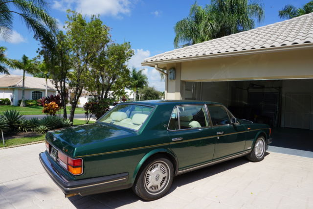 The Bentley Mulsanne S Very Limited: 1989 BENTLEY MULSANNE S For Sale